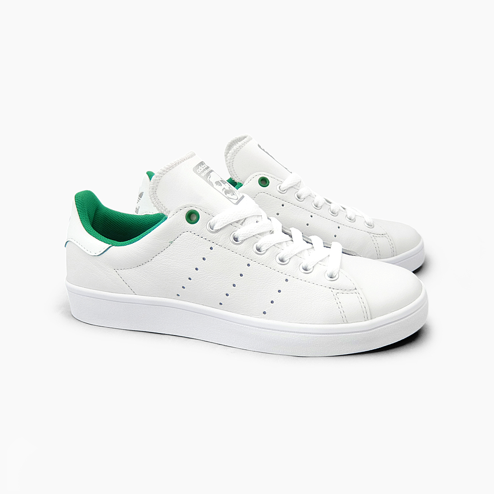 ADIDAS SKATEBOARDING adidas Stan Smith bulk STAN SMITH VULC D68843 WHITEGREEN Womens mens ADIDAS STAN SMITH adidas Stan Smith