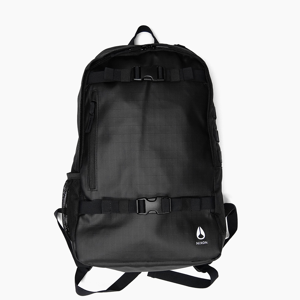 NIXON リュック SMITH SKATEPACK III [C2815 000 BLACK 21L] ニクソン スミス スケートパック 3 バックパック リュック バッグ メンズ レディース 黒 ブラック (バックパック) 通学 オシャレ リュックサック 新作 スケボー パソコン BAG 鞄 デイバック デイパック BACKPACK