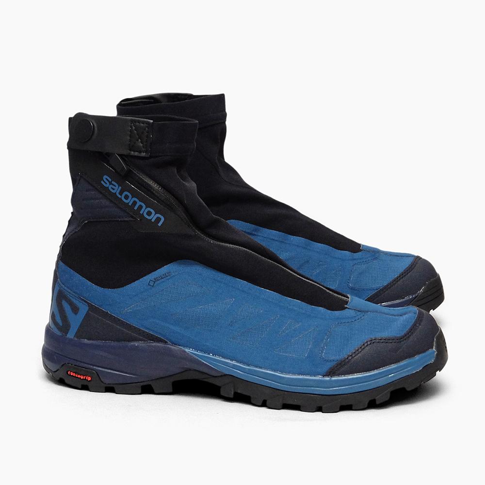 【送料込】 SALOMON OUTPATH PRO GTX L39865300 サロモン 登山 メンズ PRO スピードハイキング用シューズ 青 アウトパス ゴアテックス 軽量 ハイキング トレイルランニング 防水 ミッドカット シューズ 男性用 靴 アウトドア 登山 ブルー ネイビー 青 紺, フィガロ:fb69978f --- canoncity.azurewebsites.net