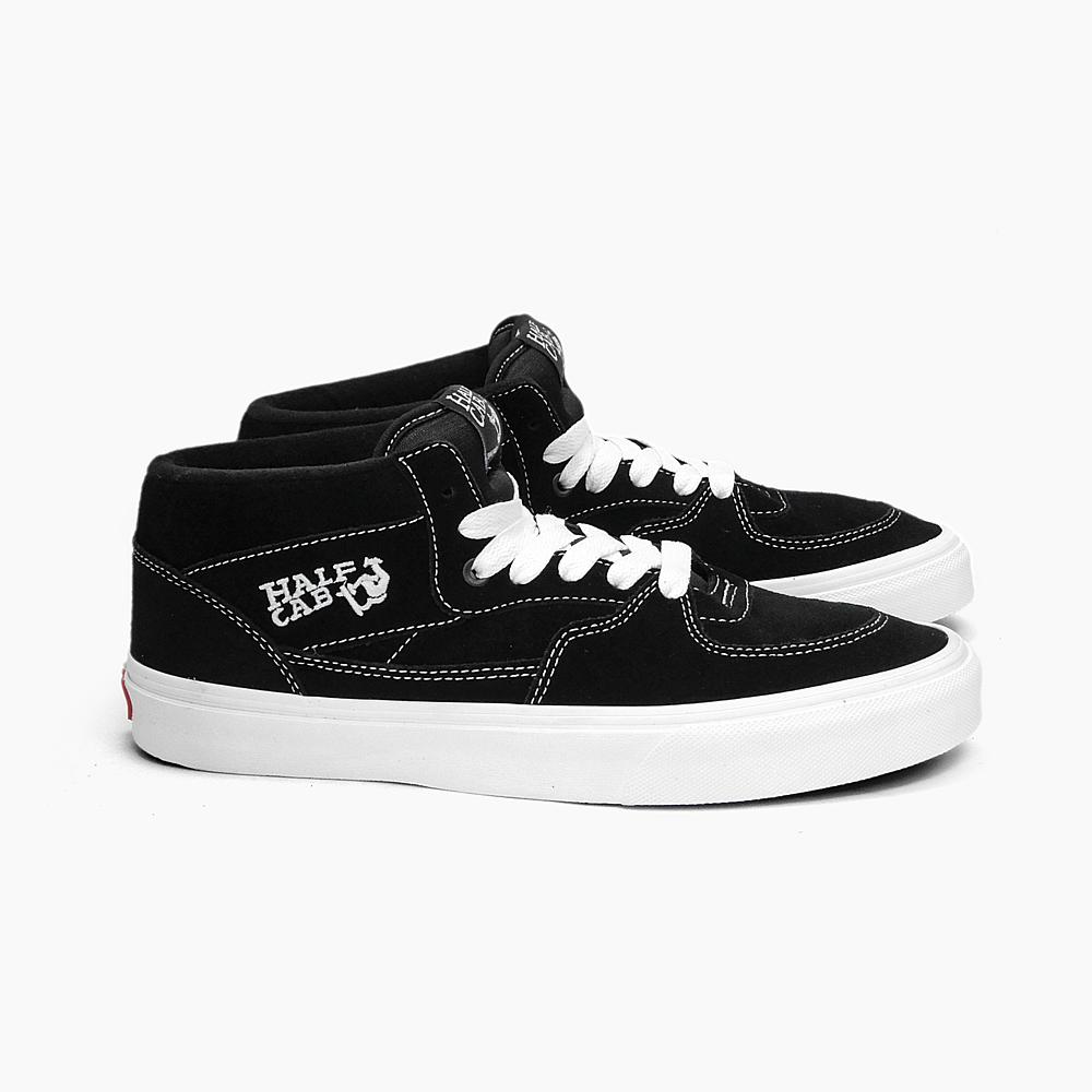 b9f0cb1150 VANS vans vans half cab men s HALF CAB VN-0DZ3BLK BLACK black black white  white suede MEN s sneaker CLASSICS USA USA overseas limited edition  skateboard ...