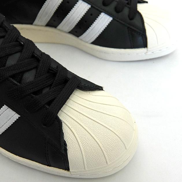 ADIDAS ORIGINALS SUPERSTAR 80'S G61069 BLACKWHITECHALK Adidas originals superstar 80S black white chalk black and white gold ADIDAS SUPER STAR