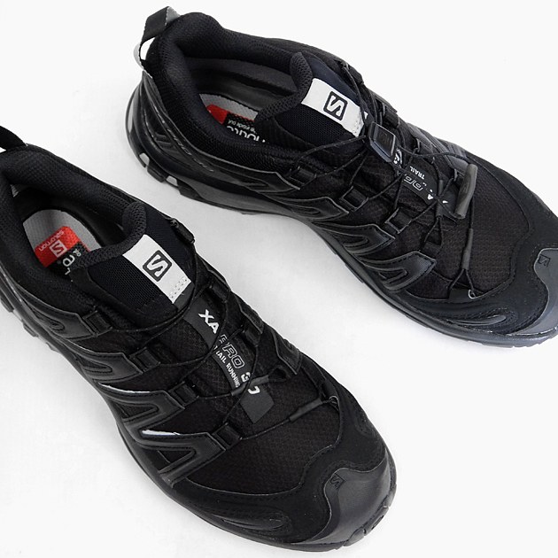 salomon xa pro 3d gore tex black grey