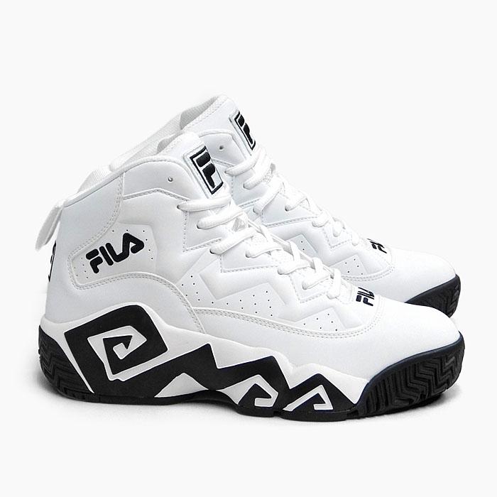 フィラ 人気 ユニセックス スニーカー マシュバーン FILA 激安卸販売新品 MB FHE102 0005 マッシュバーン 白 ホワイト バスケットボールシューズ 迅速な対応で商品をお届け致します レディース 靴 NBA シグネチャーモデル 厚底 メンズ