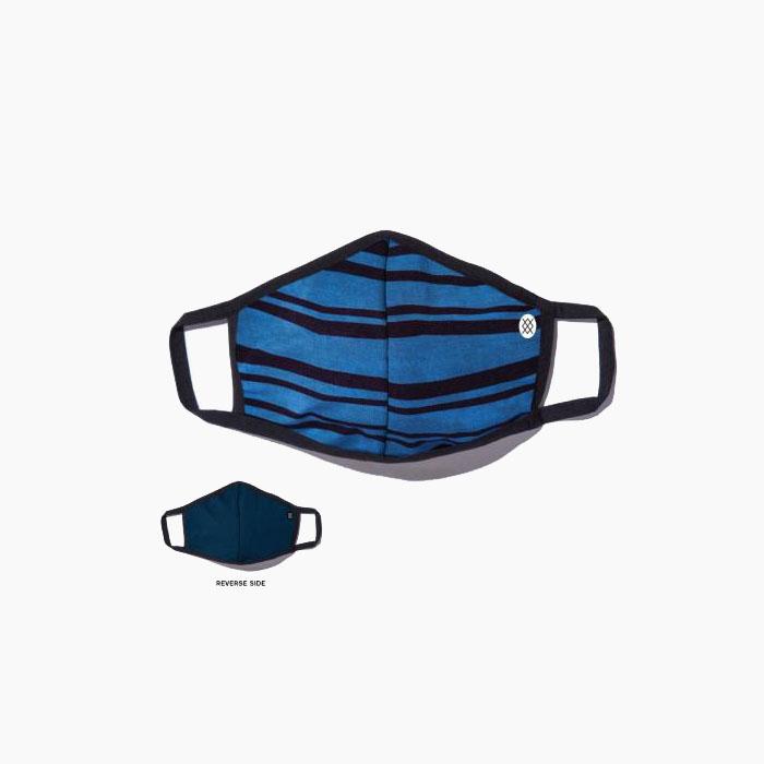 洗濯可能 プレミアム素材 バターブレンド フェイスマスク 返品交換不可 STANCE DRAKE MASK AH01C20DRA#NVY スタンス リバーシブル ワンサイズ ネイビー ボーダー ノンメディカルマスク 布 特価 お気に入り 花粉 ほこり 大人用 飛沫 青 マスク