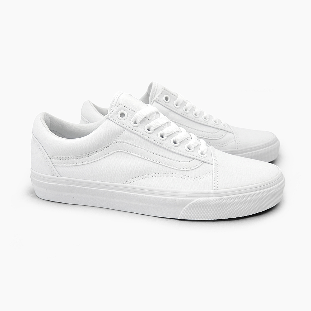 tênis vans old skool true white