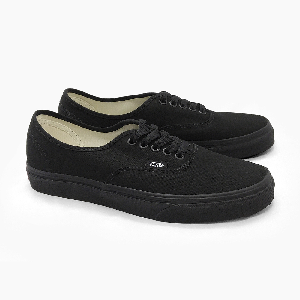 VANS AUTHENTIC vans authentic Black BLACK BLACK VN-0EE3BKA mens Womens  sneakers VANS vans AUTHENTIC adidas a12ca1b3b
