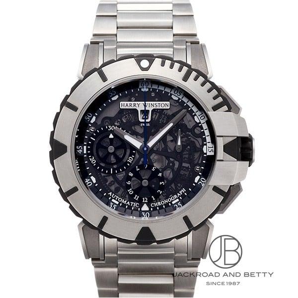ハリー・ウィンストン HARRY WINSTON オーシャン スポーツ クロノグラフ OCSACH44ZZ003 新品 時計 メンズ