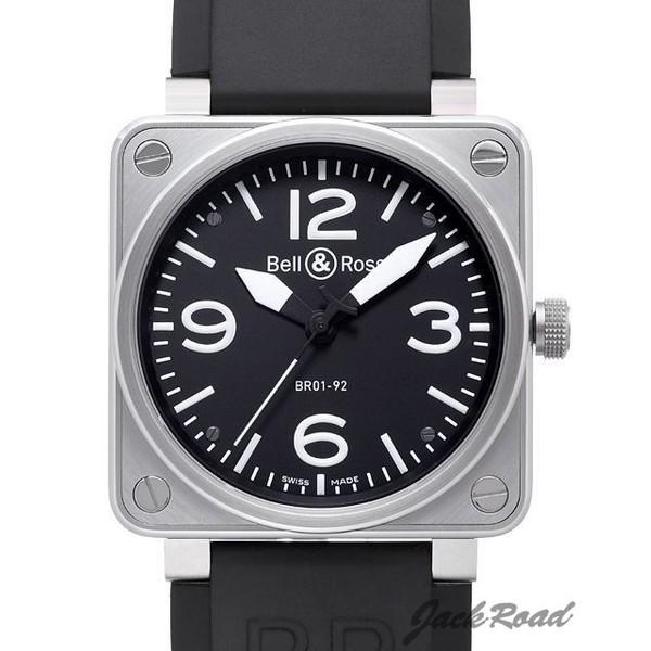 ベル&ロス BELL&ROSS BR01-92 オートマティック BR01-92B-R 【新品】 時計 メンズ