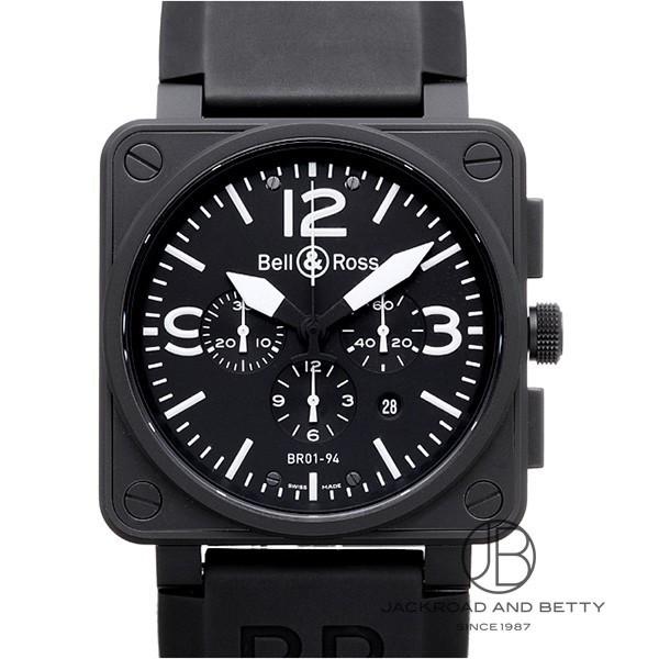 ベル&ロス BELL&ROSS BR01-94 カーボン クロノグラフ BR01-94CFB-CA 【新品】 時計 メンズ