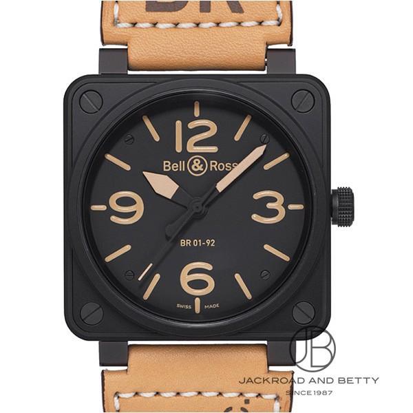 ベル&ロス BELL&ROSS BR01-92 ヘリテージ BR01-92 HERITAGE-CA 新品 時計 メンズ