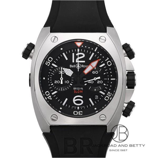 ベル&ロス BELL&ROSS BR02-94 クロノグラフ BR02-94B-R 新品 時計 メンズ