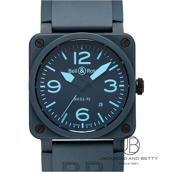 ベル&ロス BELL&ROSS BR03-92 ブルー セラミック BR03-92 BLUE C-R 【新品】 時計 メンズ