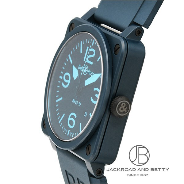 bell and ross blue ceramic review