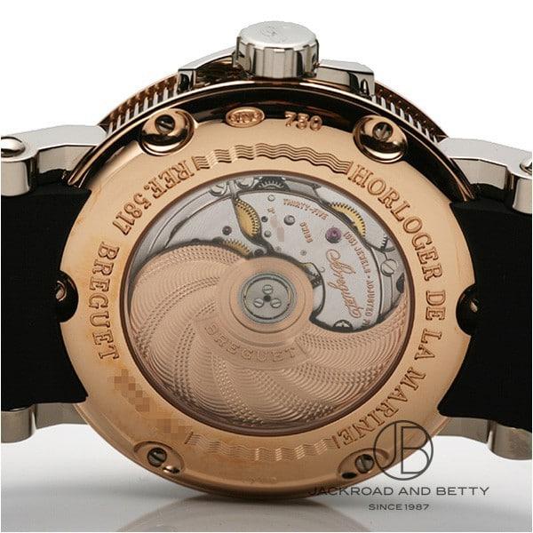 宝玑宝玑海洋第二大的日期按颜色 5817benape2na5pe8 时钟 [男]