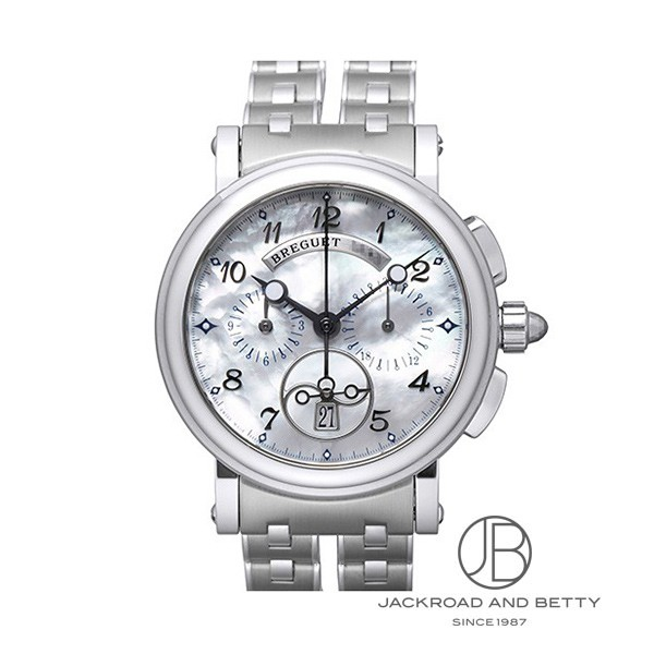 ブレゲ Breguet マリーンクロノグラフ 8827ST/5W/SMO 【新品】 時計 レディース
