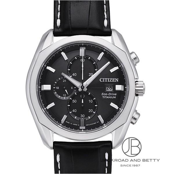 シチズン CITIZEN エコドライブ チタニウム クロノグラフ CA0021-02E 【新品】 時計 メンズ