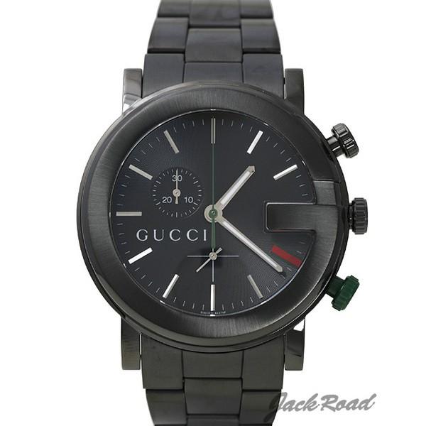 グッチ GUCCI YA101 クロノグラフ オールブラック YA101331 【新品】 時計 メンズ