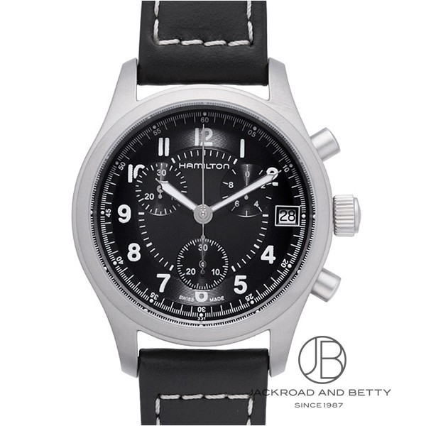 ハミルトン HAMILTON カーキ クロノグラフ H68582733 新品 時計 メンズ