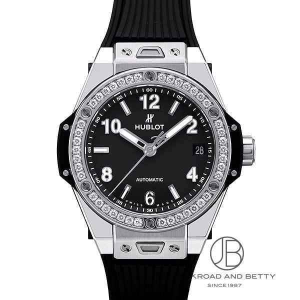 ウブロ HUBLOT ビッグバン ワンクリック スチールダイヤモンド 465.SX.1170.RX.1204 【新品】 時計 レディース