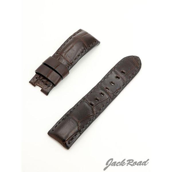 ジャックロード Jackroad パネライ用・オリジナル革ベルト24mm(純正Dバックル仕様) jnd012