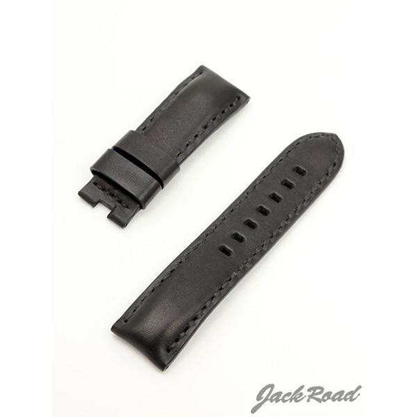 ジャックロード Jackroad パネライ用・オリジナル革ベルト24mm(純正Dバックル仕様) jnd021