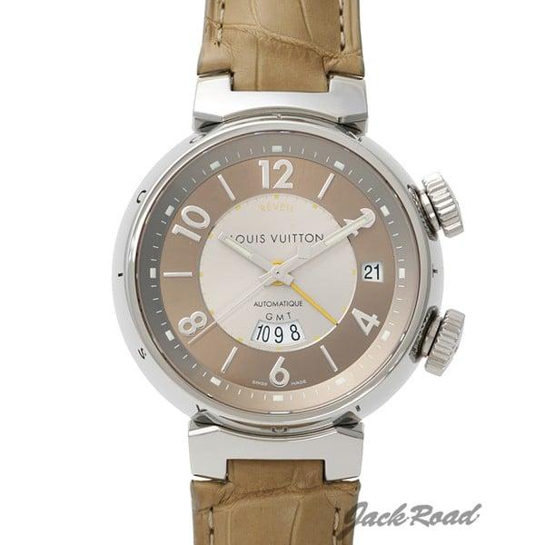 ルイ・ヴィトン LOUIS VUITTON タンブール GMT レヴェイユ Q11520 新品 時計 メンズ