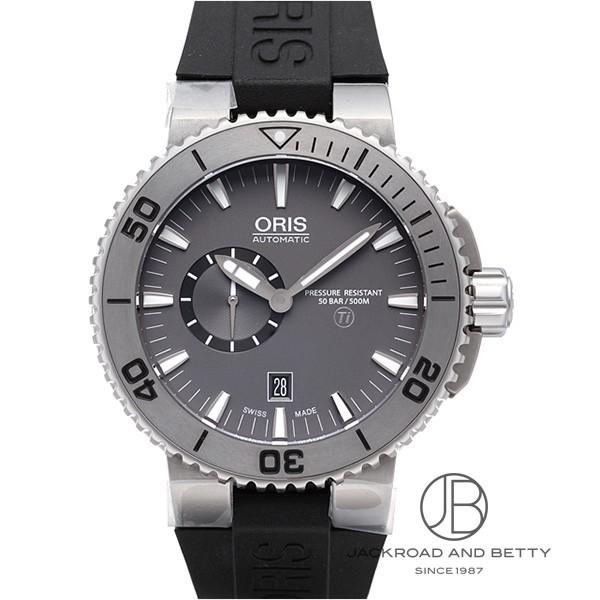 オリス ORIS アクイス チタン スモールセコンド デイト 743 7664 7253R 【新品】 時計 メンズ