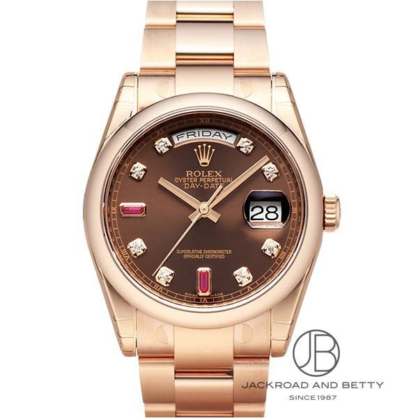 ロレックス ROLEX デイデイト 118205F 新品 時計 メンズ