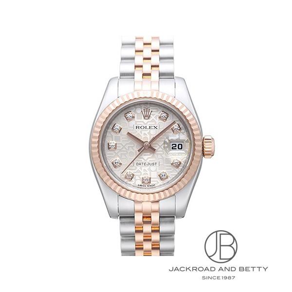 ロレックス ROLEX オイスターパーペチュアルデイトジャスト 179171G 新品 時計 レディース