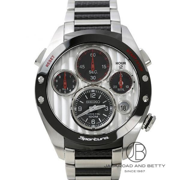セイコー SEIKO キネティック クロノグラフ ホンダレーシングF1 2007年限定モデル SLQ023J1 新品 時計 メンズ