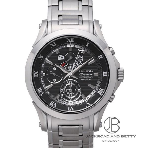 セイコー SEIKO プルミエ アラーム クロノグラフ パーペチュアル SPC051P1 新品 時計 メンズ