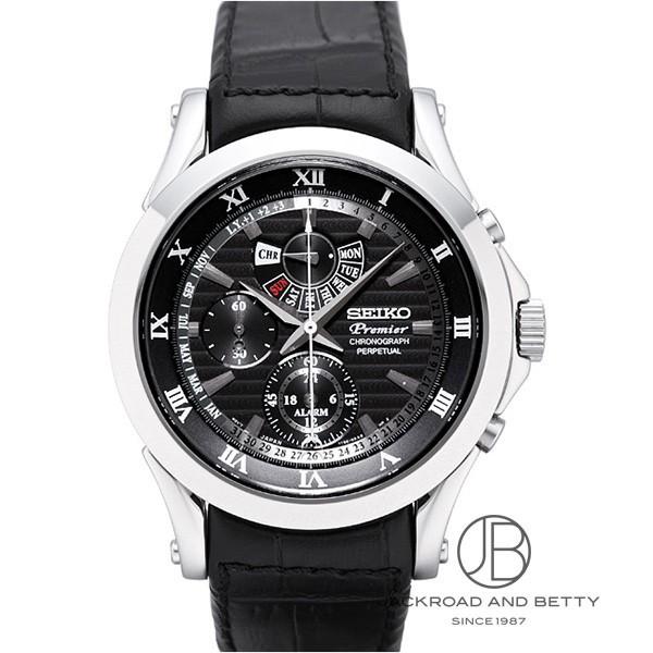 セイコー SEIKO プルミエ アラーム クロノグラフ パーペチュアル SPC053P1 新品 時計 メンズ