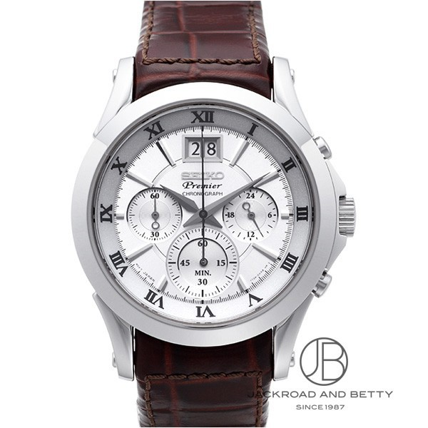 セイコー SEIKO プルミエ クロノグラフ SPC059P1 新品 時計 メンズ