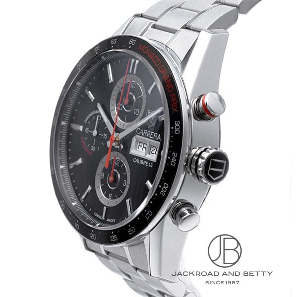 jackroad tag heuer carrera chronograph monaco grand prix ref cv2a1f ft6033 rakuten global. Black Bedroom Furniture Sets. Home Design Ideas
