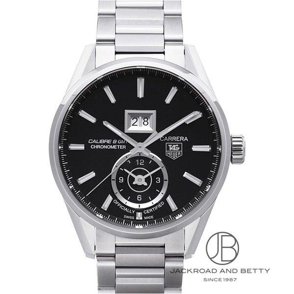 タグ・ホイヤー TAG HEUER カレラ グランドデイト GMT キャリバー8 WAR5010.BA0723 新品 時計 メンズ