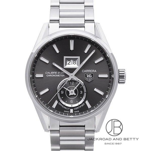 タグ・ホイヤー TAG HEUER カレラ グランドデイト GMT キャリバー8 WAR5012.BA0723 【新品】 時計 メンズ