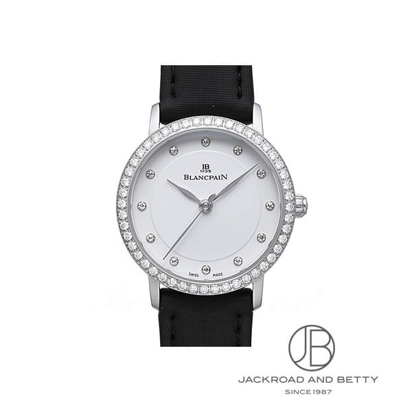 ブランパン BLANCPAIN ヴィルレ ウルトラスリム 6102-4628-95A 新品 時計 レディース
