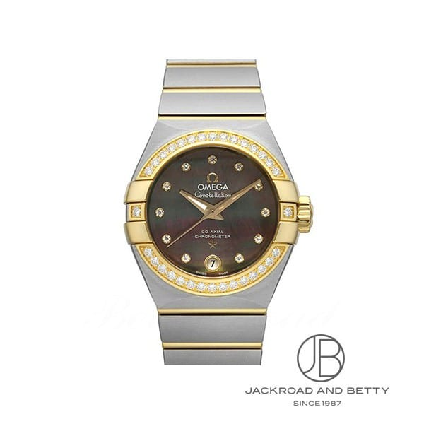 オメガ OMEGA コンステレーション ブラッシュ コーアクシャル タヒチ 123.25.27.20.57.007 新品 時計 レディース