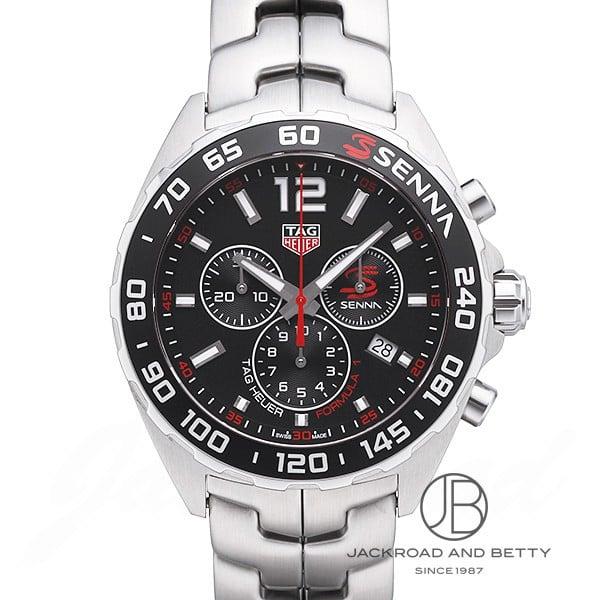 タグ・ホイヤー TAG HEUER フォーミュラ1 クロノグラフ A・セナ エディション CAZ1015.BA0883 新品 時計 メンズ