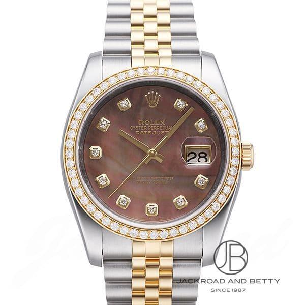 ロレックス ROLEX デイトジャスト ダイヤモンドベゼル 116243NG 【新品】 時計 メンズ
