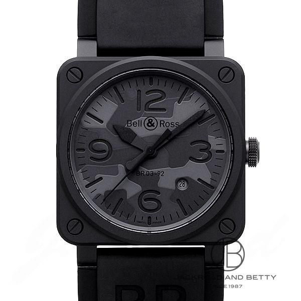 ベル&ロス BELL&ROSS BR03-92 ブラックカモ BR0392-CAMO-CE/SRB 新品 時計 メンズ