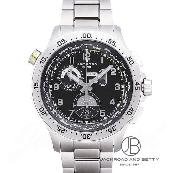 ハミルトン HAMILTON カーキ アビエーション ワールドタイマー クロノ H76714135 新品 時計 メンズ
