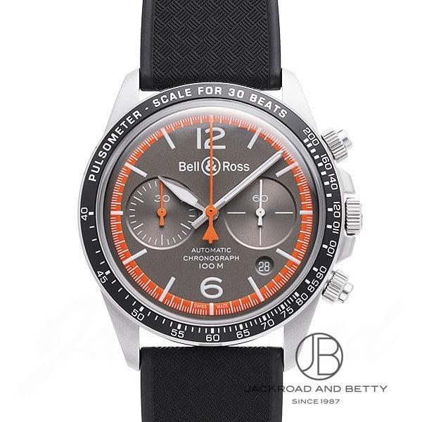 ベル&ロス BELL&ROSS ヴィンテージ BRV2-94 ガードコート BRV294-ORA-ST/SRB 【新品】 時計 メンズ