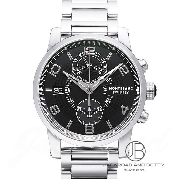 モンブラン MONTBLANC タイムウォーカー ツインフライ クロノグラフ オートマティック 104286 新品 時計 メンズ