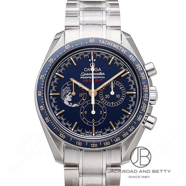 オメガ OMEGA スピードマスター プロフェッショナル アポロ17号 月面着陸45周年記念限定 311.30.42.30.03.001 【新品】 時計 メンズ