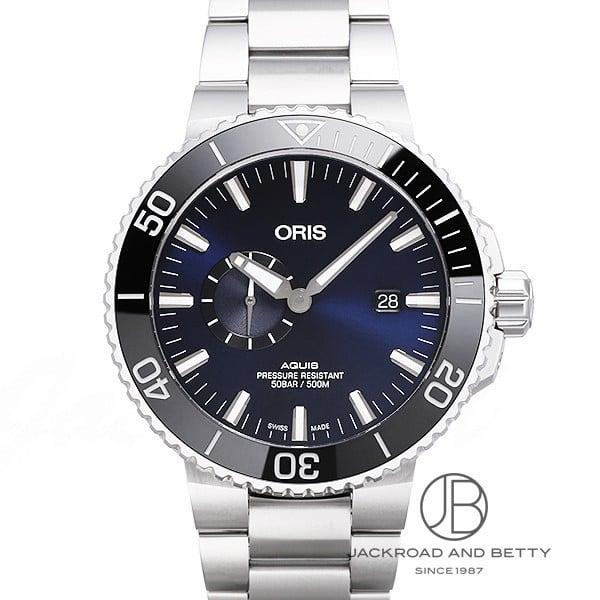 オリス ORIS アクイス スモールセコンド デイト 743 7733 4135M 新品 時計 メンズ