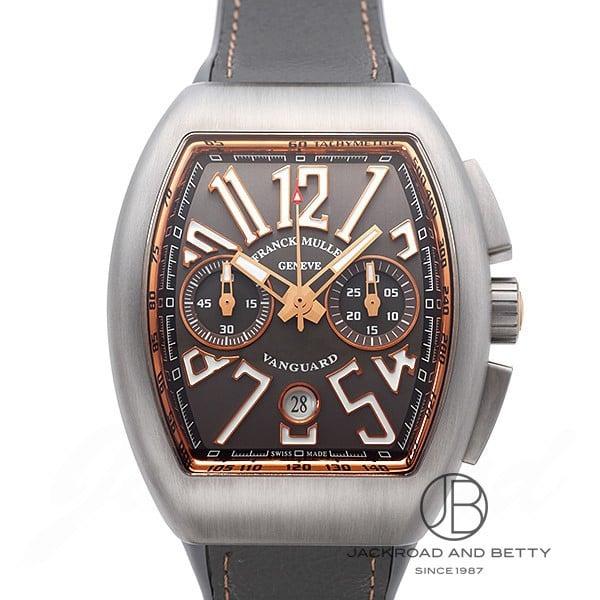 フランク・ミュラー FRANCK MULLER ヴァンガード クロノグラフ V45CCDT TTBR5N 新品 時計 メンズ