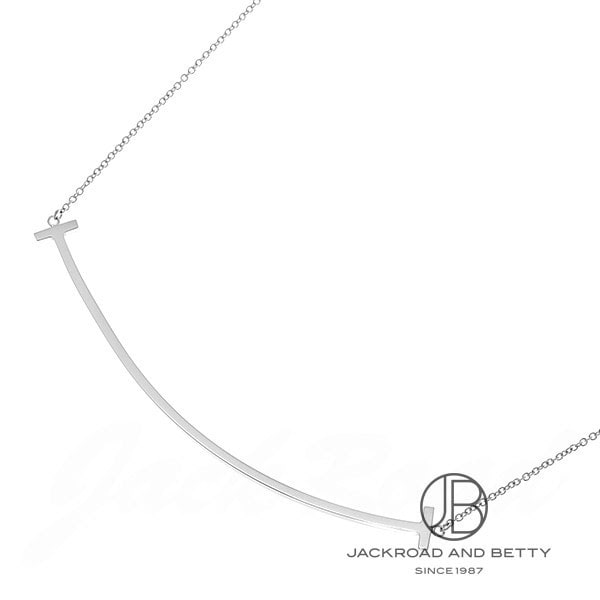 ティファニー TIFFANY&Co. Tスマイルペンダント K18WG 34775346 新品 ジュエリー ブランドジュエリー
