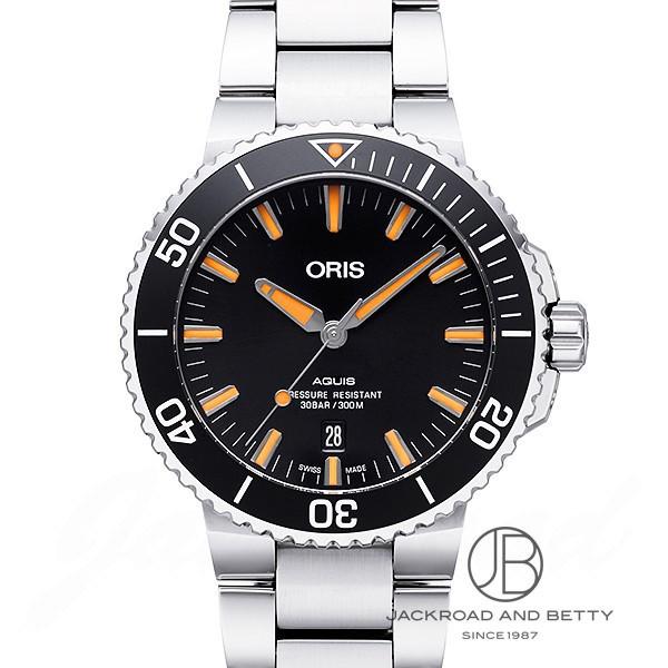 オリス ORIS アクイス デイト 733 7730 4159M 新品 時計 メンズ