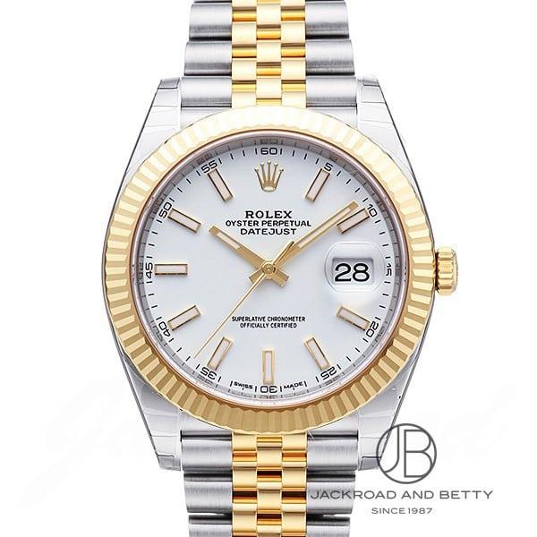 ロレックス ROLEX デイトジャスト41 126333 新品 時計 メンズ